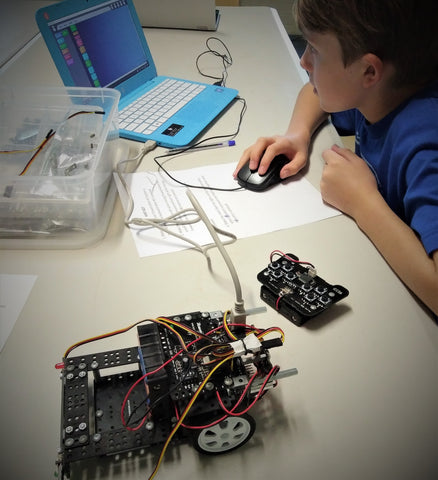 OMG! This is our rock star robotics student at the beginning of his journey. We are so proud we have such great students!