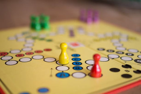 Play board games with kids on school holidays