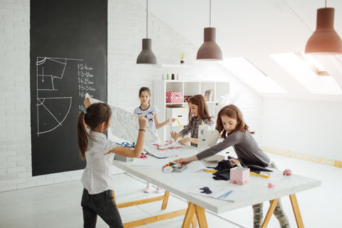 What skills and abilities are improved at a creative thinking class?