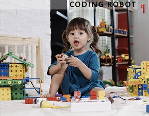 Coding Robotics Kit for children Step 1 to Learn robot programming and building