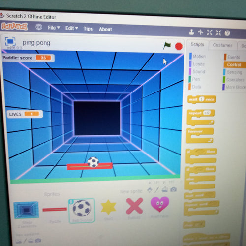 13-17 July - 3pm AEST - Online Scratch Coding Camp - Age Y3-Y7