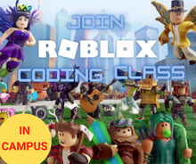 Load image into Gallery viewer, In Campus Roblox Coding Intro LEVEL 1 - Coding Class for Kids - School Grades Y3-Y7