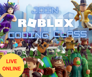 Online Roblox Coding Intro LEVEL 1 - Term 1 2021 - Online Coding Class for Kids - School Grades Y3-Y7