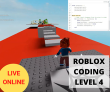 Load image into Gallery viewer, Online Roblox Coding LEVEL 4 - Term 1 2021 - Online Coding Class for Kids - School Grades Y3-Y7