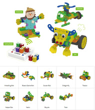 Load image into Gallery viewer, Educational Robot Toy - Preschool Robotics Kit - Age 3-5 years old