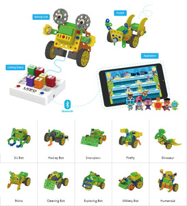 Educational Robot Toy - Preschool Robotics Kit - Age 3-5 years old