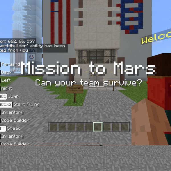 Thinklum Minecraft STEM Camp Mission to Mars