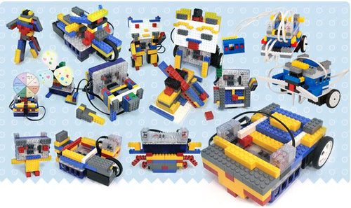 Robotics kit for kids to learn robots design and computational thinking