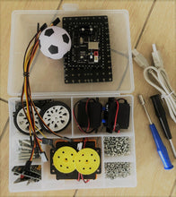 Load image into Gallery viewer, Thinklum Soccer Robotics Camp for kids in Concord West - Build your soccer robot to win the competition