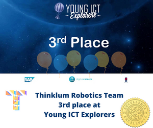 Thinklum robotics  team came 3rd at ICT Young Explorers Competition with their robotic project
