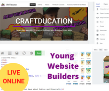 Load image into Gallery viewer, Young Website Builders – Online Website Creation and Coding Course for Kids – Level 1