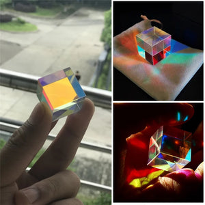 Light Splitting Prism for Optical Experiments