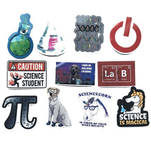 Load image into Gallery viewer, Pack of Science Stickers for Kids