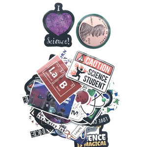Pack of Science Stickers for Kids