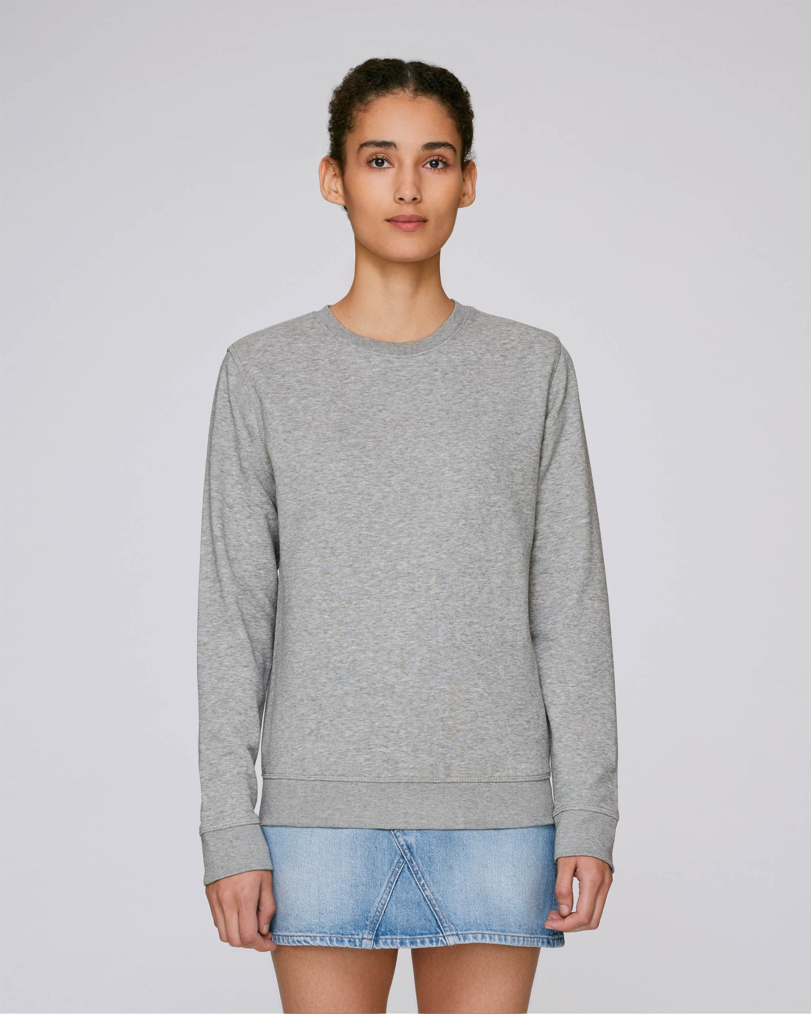 sweat shirt gris bio