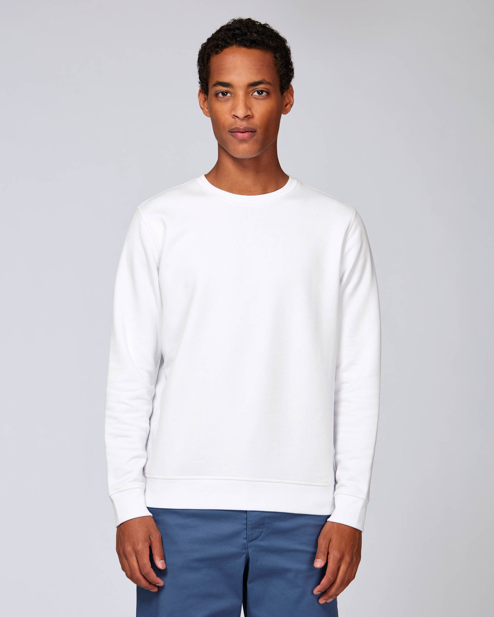 sweat shirt blanc