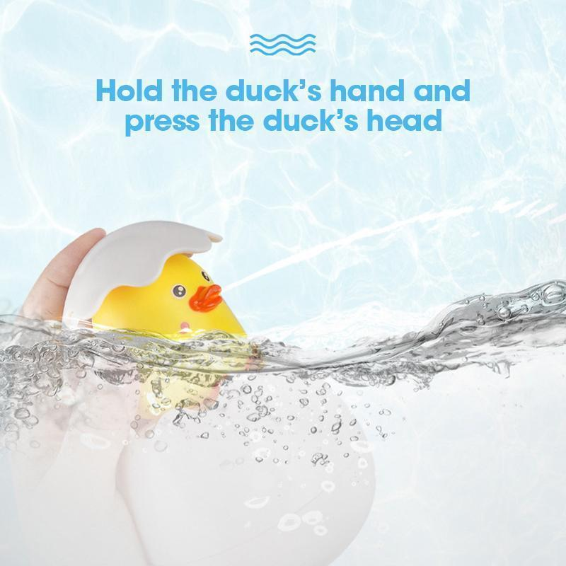 Hatching Duckling Spray Bath Toy
