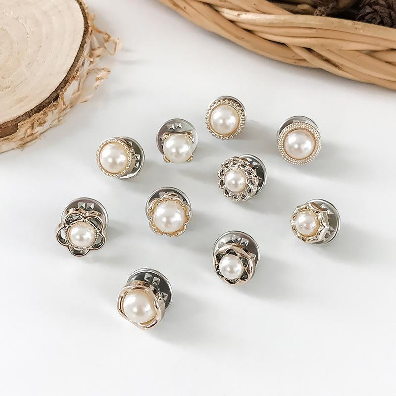 Anti-Exposure Fixed Brooches (10 PCs/Set)