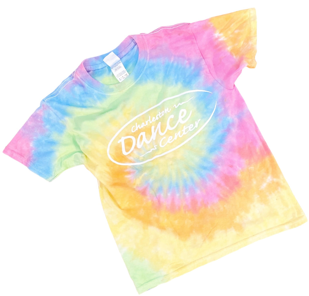 Charleston Dance or Just Dance Logo Tie Dye T-shirt