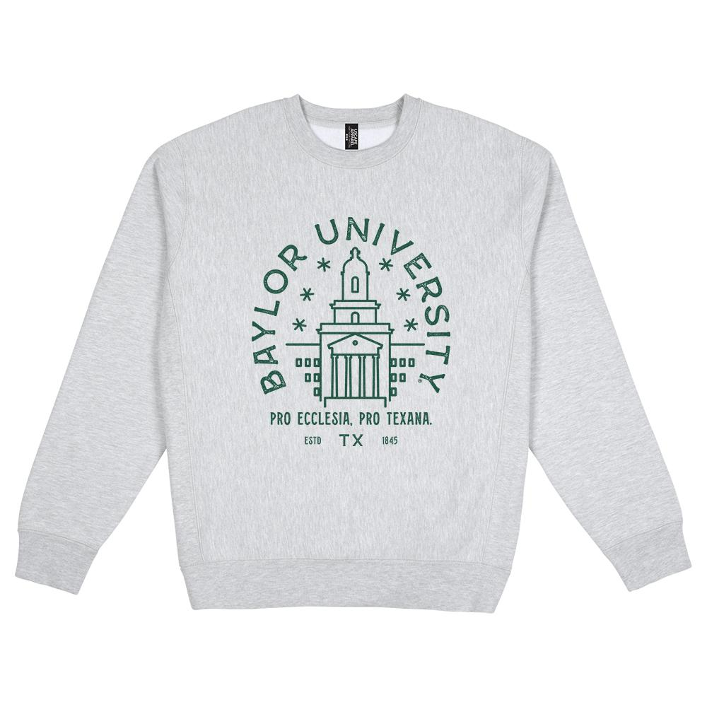 Baylor Heavy Weight Crewneck