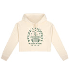 Baylor Typography Cropped Hoodie