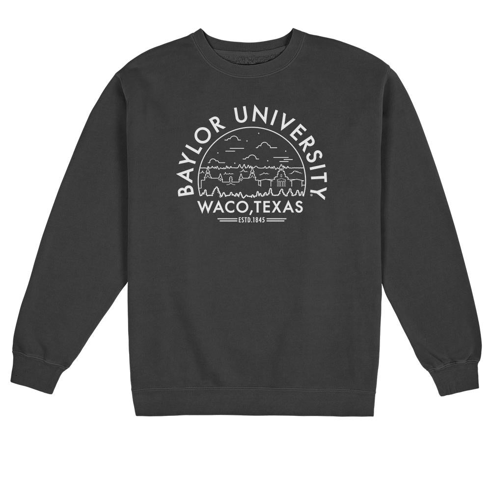 Load image into Gallery viewer, Baylor Pigment Dyed Crewneck