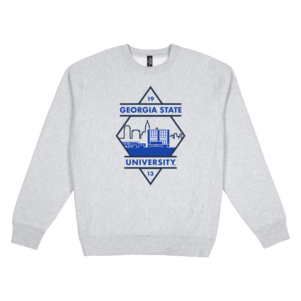 Georgia State Heavy Weight Crewneck