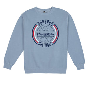 Load image into Gallery viewer, Gonzaga '90s Pigment Dyed Crewneck