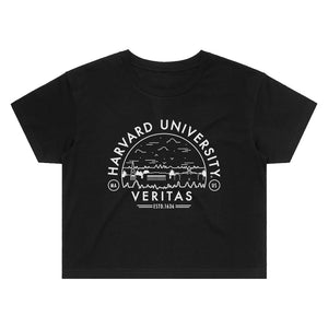 Load image into Gallery viewer, Harvard Voyager Crop Tee