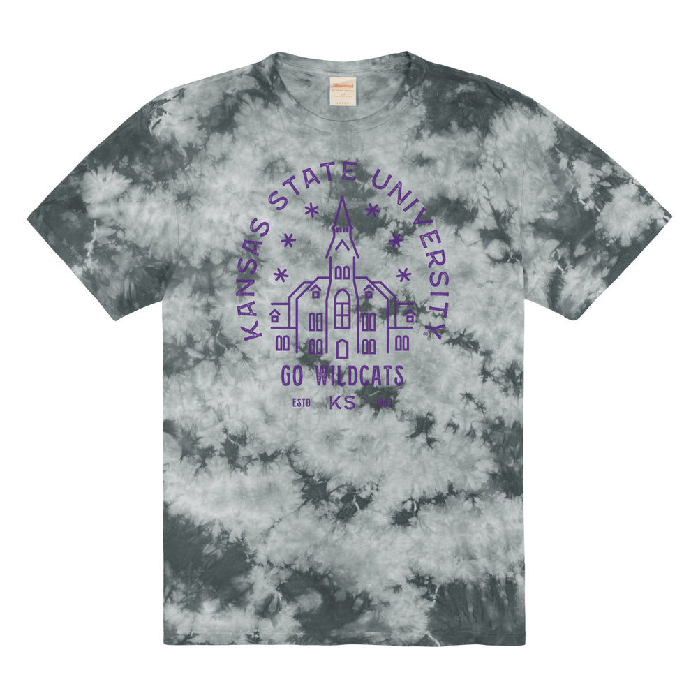 Load image into Gallery viewer, Kansas State Tie Dye Tee