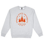 Oregon State Typography Heavyweight Crewneck