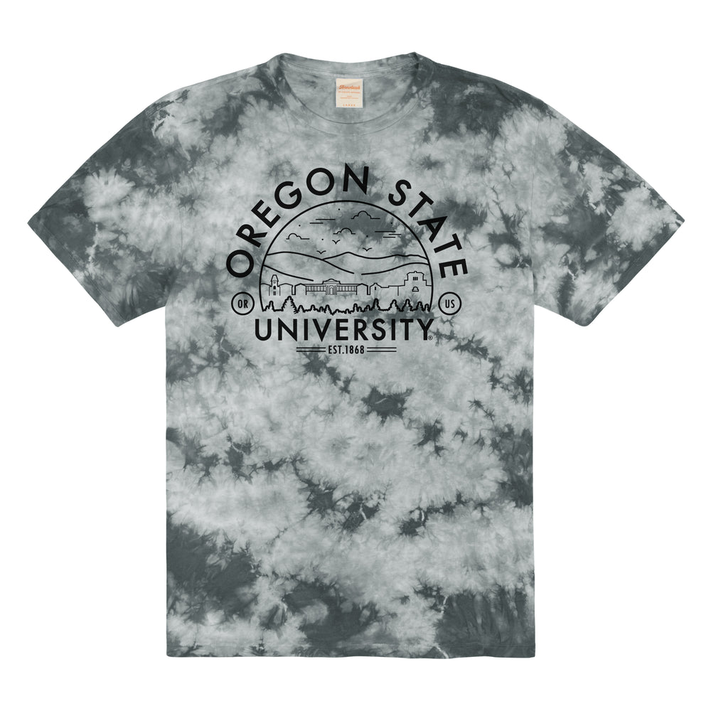 Load image into Gallery viewer, Oregon State Tie Dye Tee