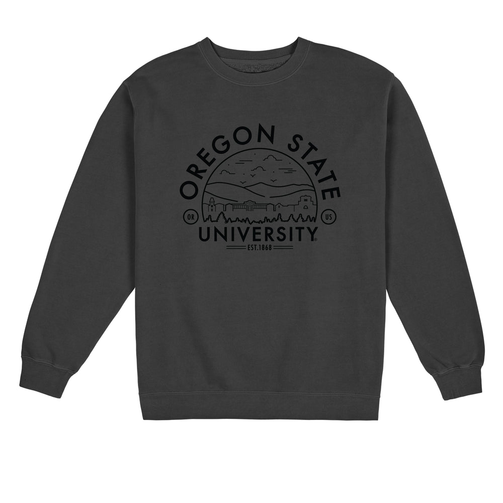 Oregon State Voyager Pigment Dyed Crewneck