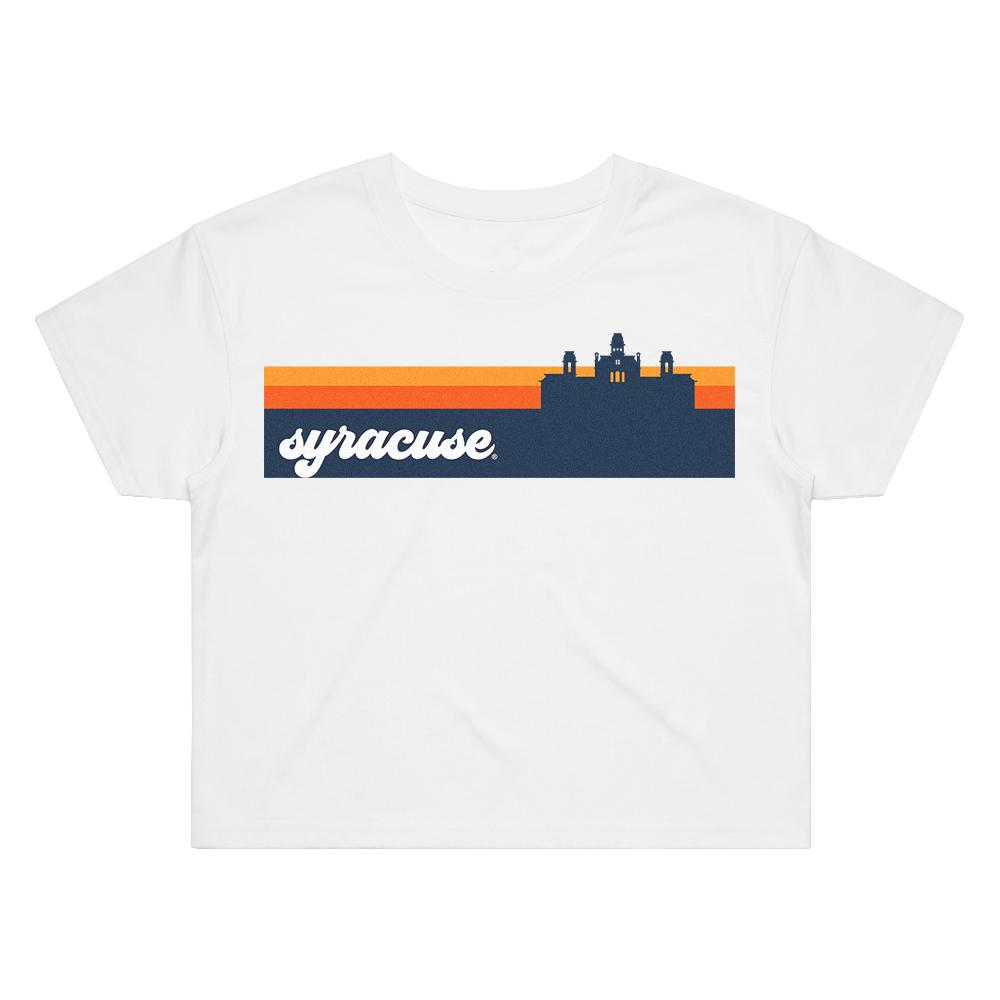 Load image into Gallery viewer, Syracuse Groovy Crop Tee