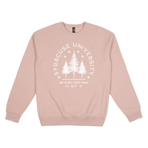 Syracuse Typography Heavyweight Crewneck