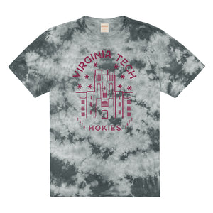 Load image into Gallery viewer, Virginia Tech Tie Dye Tee