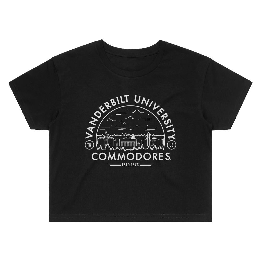 Load image into Gallery viewer, Vanderbilt Voyager Crop Tee