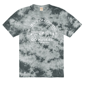 Load image into Gallery viewer, UCONN Tie Dye Tee