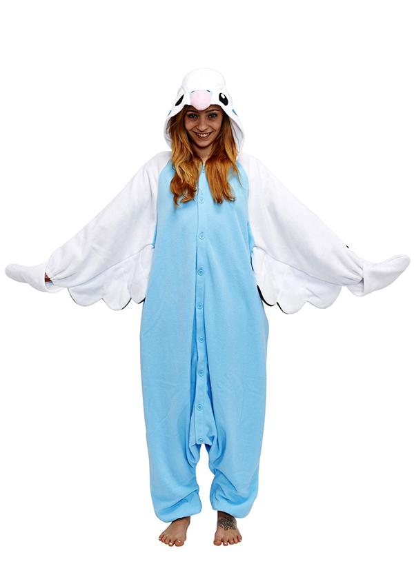 Blue Budgie Animal Kigurumi Onesies