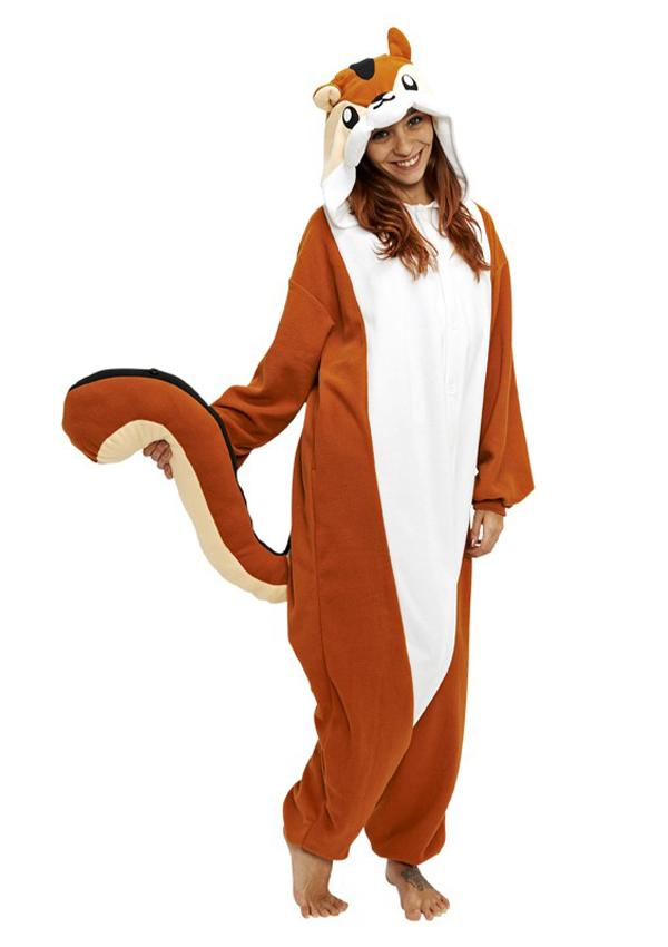 Chipmunk Animal Kigurumi Onesies
