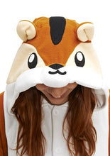 Load image into Gallery viewer, Chipmunk Animal Kigurumi Onesies
