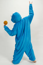 Load image into Gallery viewer, Cookie Monster Kigurumi Onesies