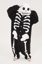 Load image into Gallery viewer, Skeleton Kigurumi Onesies