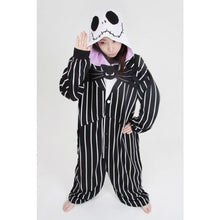 Load image into Gallery viewer, Halloween Jack Skellington Kigurumi Onesies