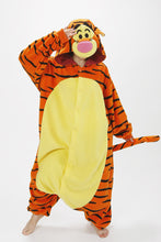 Load image into Gallery viewer, Tigger Kigurumi Onesies