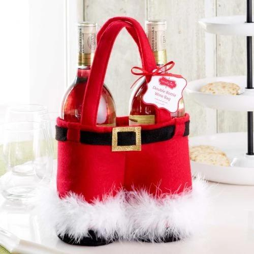 Santa Claus Pants Gift Bag