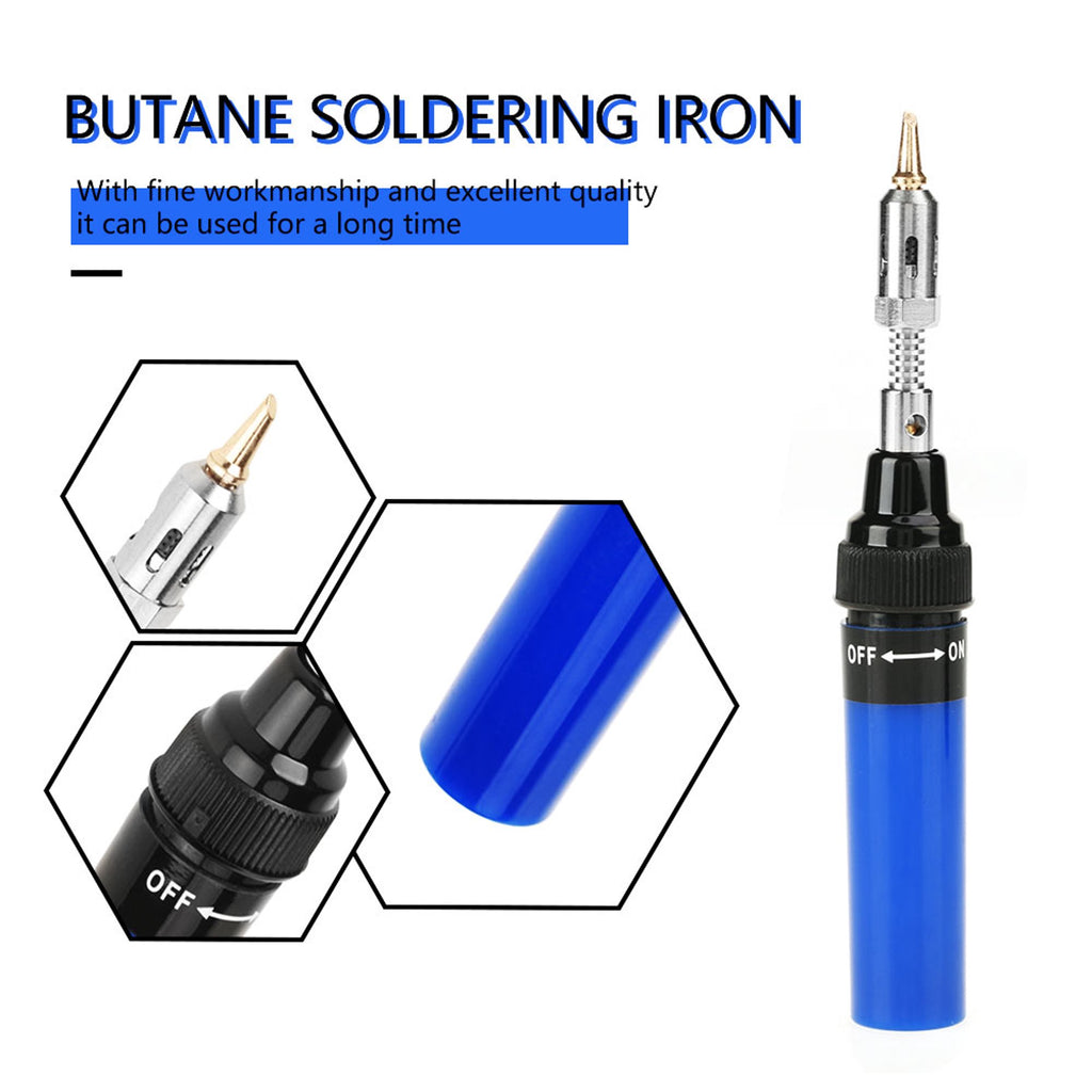 1300 Degree Gas Blow Torch Soldering Solder Iron