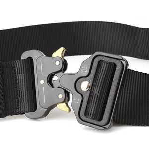 Tactical Belts Nylon Military Waist Belt with Metal Buckle Adjustable Heavy Duty Training Waist Belt Hunting Accessories