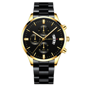 Men Stainless Steel Wrist Watch