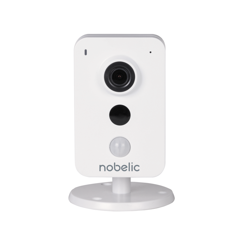 Nobelic NBLC-1410F-WMSD 4MP Wi-Fi IP Camera with 12V power supply adaptor and microSD card support